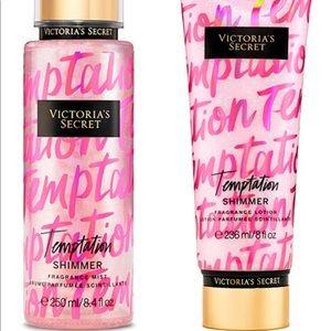 Victoria's Secret Temptation Shimmer 🌸Duo🌸